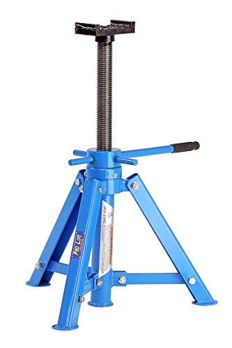 Pro-Lift-Werkzeuge Unterstellbock 12t Abstellbock Wagenheber Abstützbock Höhe 445 – 720 mm KFZ PKW Unterstellböcke Rangierwagenheber Stützbock 12000 kg Bock Maschinenheber