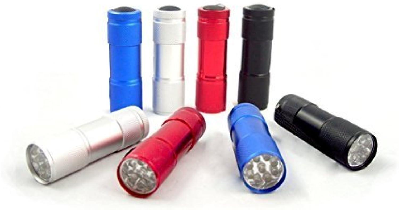 Krismile 30204 3 – 1 2-inch Nine LED Aluminum Flashlights, LED Aluminum Waterproof Mini Flashlight, 8-Pack by Krismile B0186JOJ9O  Online