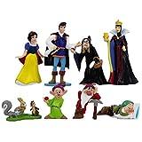 8 unids / Set Princesa Blancanieves y los Siete enanitos Reina príncipe PVC Figura Juguetes...
