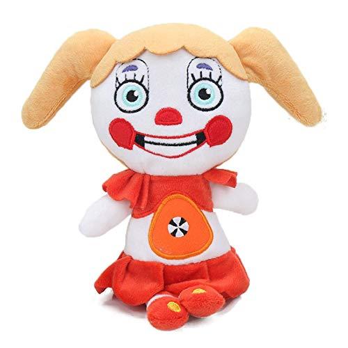 18 cm FNAF Freddyed Fazbear Plüsch, fünf Nächte bei Freddy's Golden Bär Nightmare Cupcake Foxy Ballon Jungen Clown Puppe Puppe Laimi