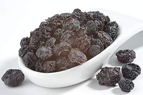 Heidelbeeren, Blaubeeren, Trockenobst, ohne Zuckerzusatz, unbehandelt, natur, zum Naschen für Joghurt & Quarkspeisen, fürs Müsli, 100g - Bremer Gewürzhandel