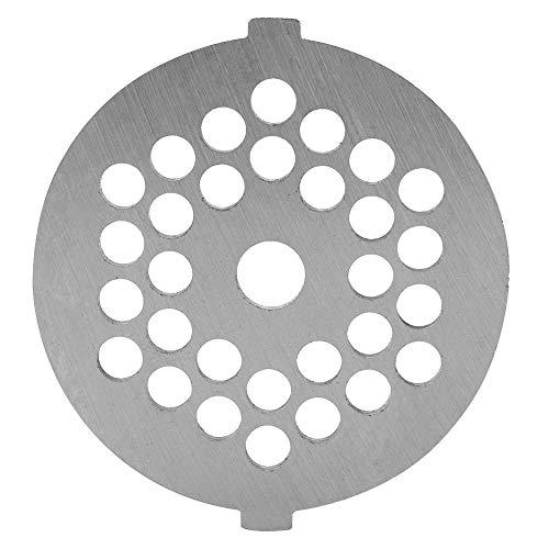 Garosa Fleischwolf Messer Edelstahl Scheibe Fleischwolf Plattenmesser mit 5 / 7mm Bohrungen Professioneller Ersatzteil für Schleifer Fleischwolf (5mm)