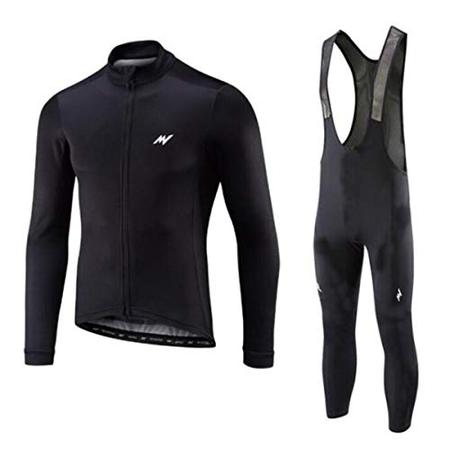 Heren Fietsshirts Sneldrogend Ademend Shirt en 3D Kussen Gewatteerde Broek Bib MTB Fietskleding Ademend Wielertrui,2,XL