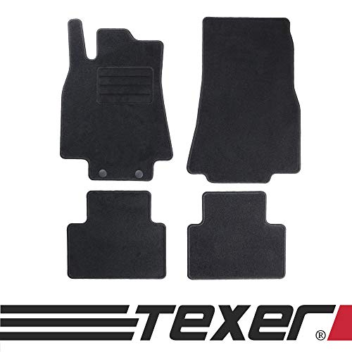 CARMAT TEXER Textil Fußmatten Passend für Mercedes-Benz A-Klasse W169 Bj. 2004-2012 Basic