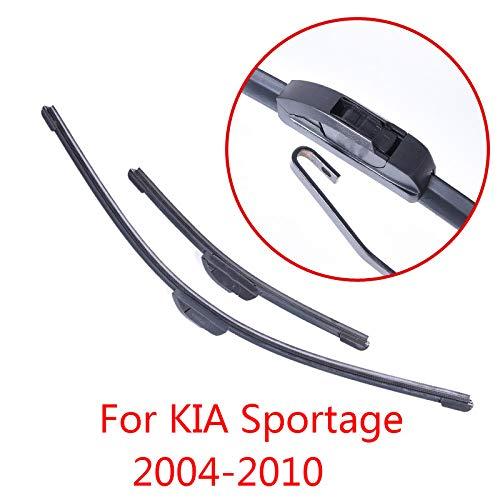 Liliguan ruitenwissers voor Kia Sportage 2004 2005 2006 2007 2008 2009 2010 zachte rubberen ruitenwissers