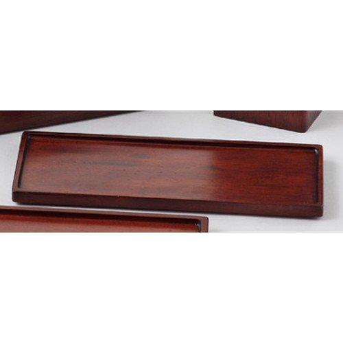 木製スパイストレイL ブラウン [ 約24 x 10 x H1.2cm ] 【 木製卓上小物 】 【 料亭 旅館 和食器 飲食店 業務用 】