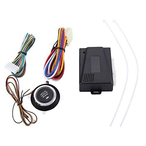 Chipoee Alarma de Coche - Sistema Universal de modificación de Arranque con una tecla de Coche de 12 V Precalentamiento y refrigeración remotos