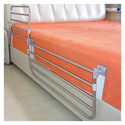 GHHZZQ Plegado con Un Clic Barandillas de Cama Durable Acero Inoxidable Barras de Apoyo Anti-caída para Hogar Hospital Dormitorio Ayuda A La Movilidad (Color : 90cm)