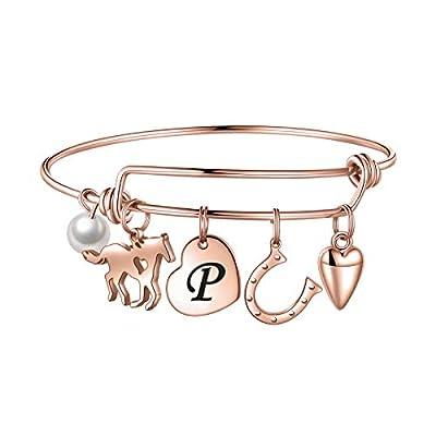 Anoup Horse Gifts for Girls Women Bracelet, Sta...