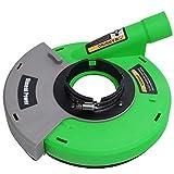 Diment Power Cuffia Aspirazione Smerigliatrici per Smerigliatrice Angolare 180mm, Verde