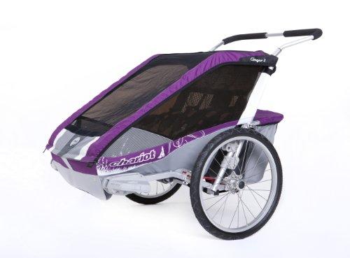 Chariot Kinderanhänger CTS Cougar 1, purple, 118 x 67 x 107 cm