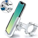 Porta Cellulare Bici, HNOOM Supporto Bici Smartphone 360° Rotabile, Aluminium Porta Telef...