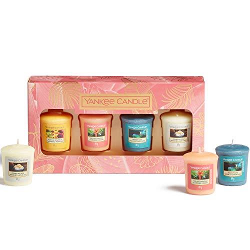 YANKEE CANDLE 1630307E Bougie, Coloris Assortis, Gift Set