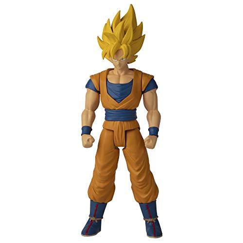 Bandai. Dragon Ball Super. Action figure gigante Limit Breaker da 30 cm. Super Saiyan Goku. 36735