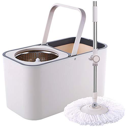 Byx HF- roterende mop – mop-emmer roterende mop dubbele aandrijving, mop-emmer, vrije handwas in huis, automatische goede gotmop-mop