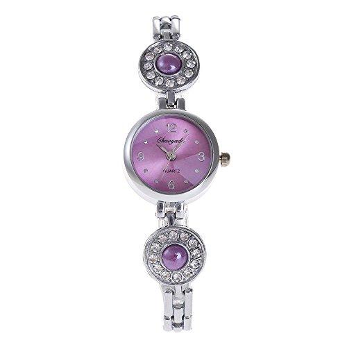 HWCOO Beautiful Watch Chaoyada Quartz Watch Ladies Fashion Watch SL68 Movement Watch (Color : 2)