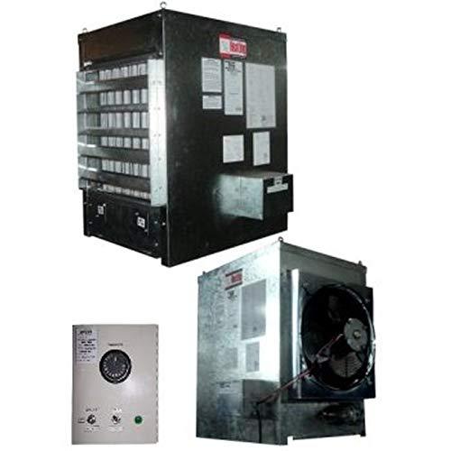 Calefactor para Invernaderos, IntregralFan, MXINA-046, 300000BTU, 3600CFM, Gas Natural, 120V/1F/60Hz, Forzado, Inoxidable