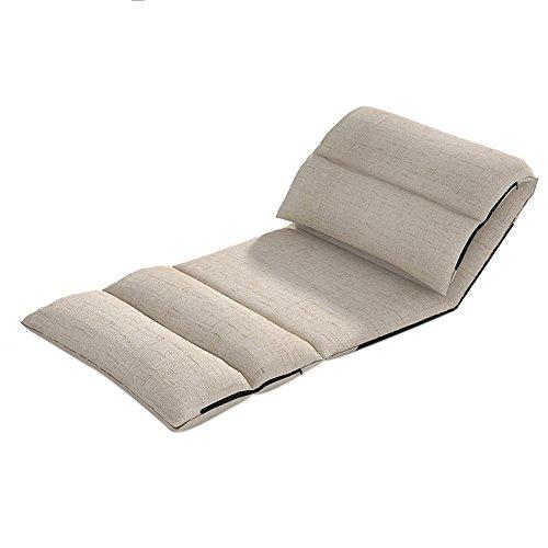 L-R-S-F Canapé paresseux, chaise à dossier simple chaise de dossier, chaise de baie vitrée, lit paresseux, chaise longue, lit pliant