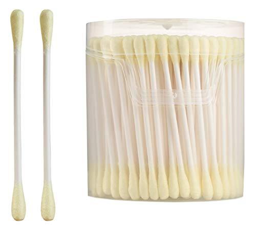 Cotons-tiges de sécurité 200 pièces Coton-tige à double pointe Bâtons de nettoyage polyvalents #9