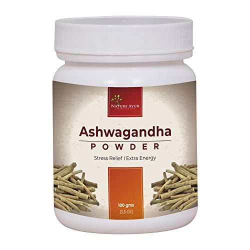 SRI NATURE AYUR Ashwagandha Powder (100 g)