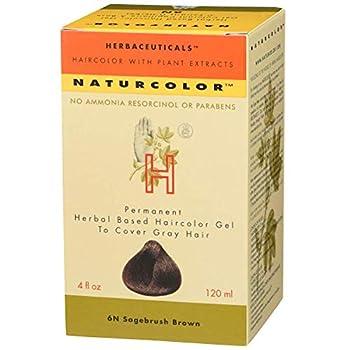 Naturcolor Haircolor Hair Dye - Sagebrush Brown 4 Fl Oz  6N