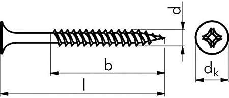 500 PARCO Schnellbauschrauben 3,9 x 45 mm Feingewinde Schrauben schwarz ph.W3882