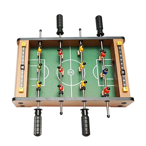 YIHGJJYP Combo Game Table Soccer Boy Table Toys Children's Puzzle Foosball Wooden Football Toy Double Entertainment Parent-Child Early Education Interactive Give Children The Best Gift