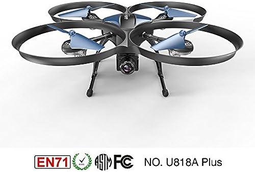 Faironly U818A-Plus WiFi WiFi & FPV Drohne mit 120 Grad Weißwinkel HD Kamera VS U49W