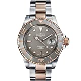 Davosa Swiss Made Dive Watch for Men - Ternos Ceramic Professional Automatic Watch with Analog Display and Unidirectional Luxury Bezel (16155562)