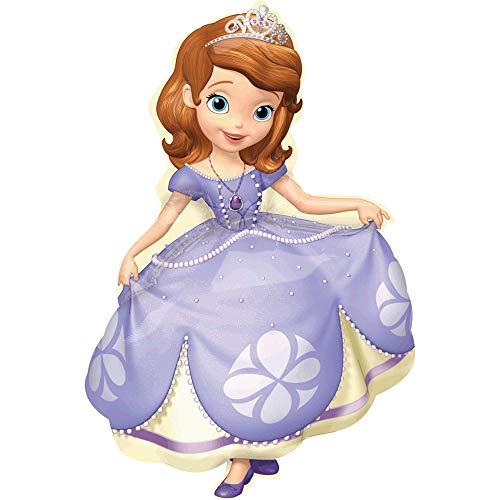 Princesse Sofia Ballons en aluminium 66 x 88 cm (Anagram 2753102)