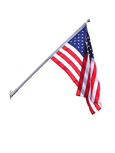Annin Flagmakers-3621 Flag Pole, 8 ft. H, Aluminum