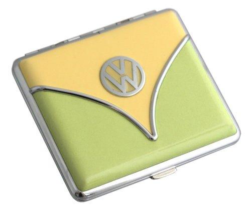 Volkswagen Zigaretten Etui Samba oder Käfer Design Verschiedene Farben (Samba - Gelb-Grün)