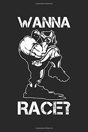 Wanna Race?: Baseball Pitcher Softball Spieler Pitching Wurf Notizbuch DIN A5 120 Seiten für Notizen, Zeichnungen, Formeln | Organizer Schreibheft Planer Tagebuch