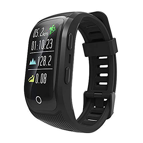 Fitness Activiteit Tracker, Smart Horloge met Hartslagmeter GPS Tracker Volledige Touch Screen Smart Armband voor Kinderen, Vrouwen, Mannen