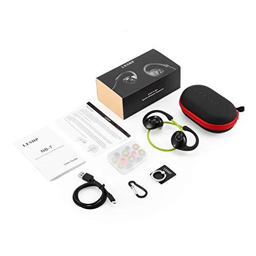 Dpatleten Caracol In-Ear Sport V4.0 Auriculares Auriculares portátiles Podómetro Verde