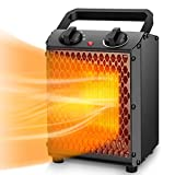 Best Hunter Ceramic Heaters - Space Heater – TRUSTECH Portable Heater with Adjustable Review