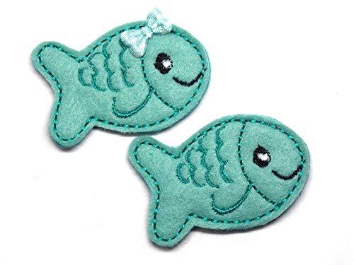 Fisch Haarspange für Kleinkinder - freie Farbwahl