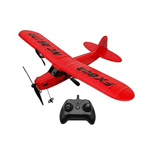 Avión RC, EPP Control remoto Avión Planeador Avión, FX-803 2.4G 2CH RC Avión, Mejor regalo para Festival (coche de control remoto)