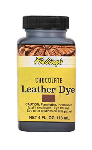 Tandy leer Fiebing lederen kleurstof chocolade bruin 4Oz