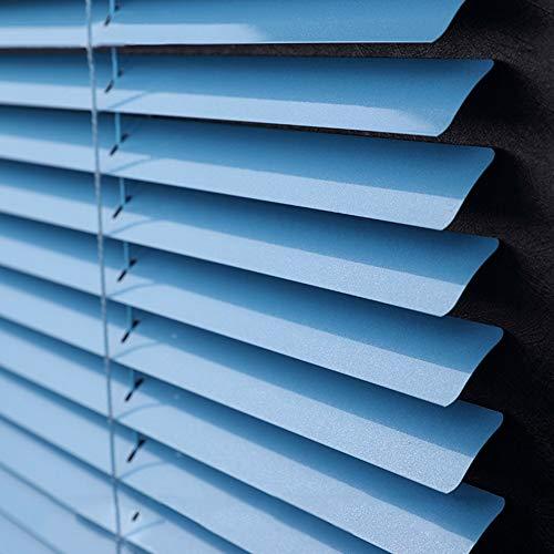 Veneziane Tenda Veneziana in Alluminio 60cm / 80cm / 100cm / 120cm / 140cm Ampia, Blu, Porta della Cucina/Oscurante per Porte da Cucina, Facile da Installare (Size : 60x140cm)