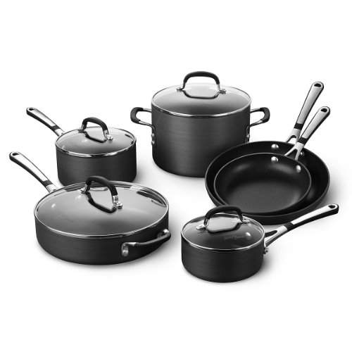 Calphalon (Sa10H) Nonstick 10 Piece Cookware Set