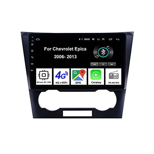 Android 10 9 Pulgadas Coche Radio De Coche GPS Navegación Para Chevrolet Epica 2006-2013 Pantalla Tactil Para Coche Accesorios De Coche Conecta Y Reproduce Car Audio Player