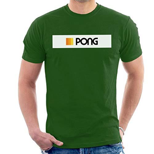 * NEW * Official Atari Pong Logo Green T-shirt