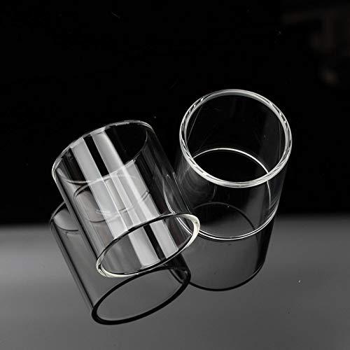 Qingtian-ceg 3 Teile/Paket Klar ersatzglas 3 ml for KangerTech Subtank Mini Pyrex Glas Elektronische Zigarette Zubehör glasrohr,Frei von Tabak und Nikotin (Color : Clear)