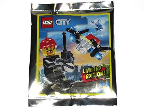 Blue Ocean LEGO City Bombero con Drone Foil Pack Set 952002 (Enbolsado)