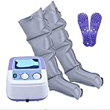 Dispositivo de masaje de piernas de compresión de aire para patas y máquina de masaje de compresión de aire de pie, promover la circulación sanguínea Aliviar el dolor fatiga