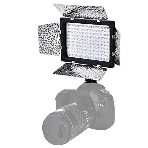 Fotografie invullicht, keurt de LED-rijtechnologie goed, 6000K kleurtemperatuur, standaard flitsschoen en 1/4