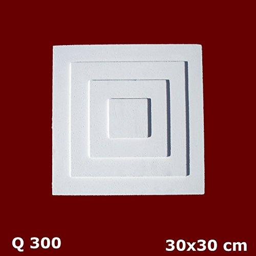 Matteo homedecoration Q 300 Stuckrosetten NEW Zierleisten Skin Technologie
