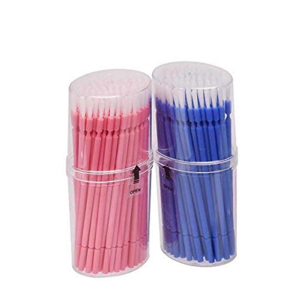 冊子バーガー流用するマイクブラシ 歯科ブラシ 精密機器の細部の清掃など 幅広く使える 使い捨て 4 * 100=400本入り Annhua