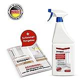 Stoppex® Protect-dauerhafter Schimmelschutz. 1L vorbeugende Schimmelimprägnierung gegen Schimmelpilz für Wände, Mauerwerk, Bad und Fliesen - Dauerhafter Schimmelstopp